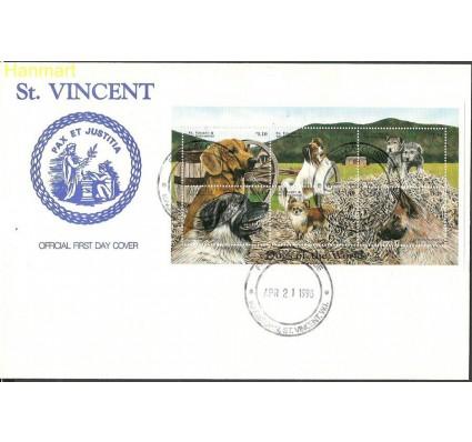 Znaczek Saint Vincent i Grenadyny 1998 Mi ark4369-4374 FDC