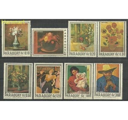 Znaczek Paragwaj 1967 Mi 1729-1736 Czyste **