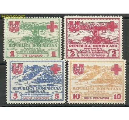 Znaczek Dominikana 1930 Mi 236-239 Czyste **
