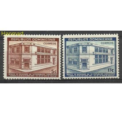 Znaczek Dominikana 1942 Mi 408-409 Czyste **