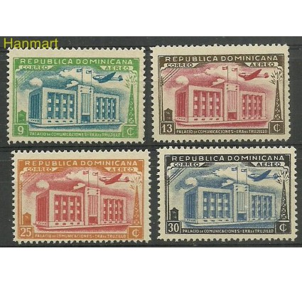 Znaczek Dominikana 1944 Mi 447-450 Czyste **
