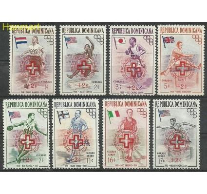 Znaczek Dominikana 1957 Mi 569-576 Czyste **