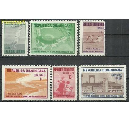 Znaczek Dominikana 1969 Mi 935-940 Czyste **