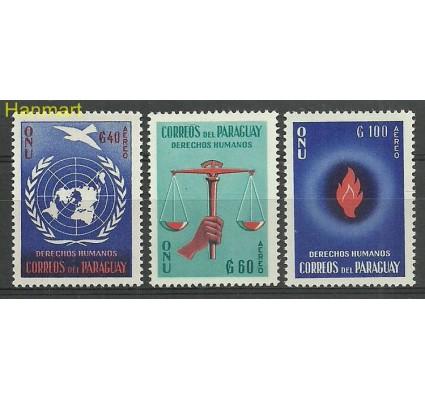 Znaczek Paragwaj 1960 Mi 854-856 Czyste **