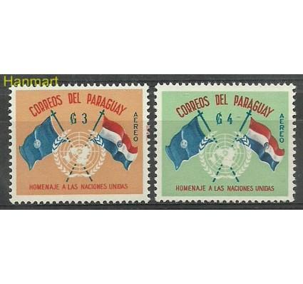 Znaczek Paragwaj 1960 Mi 867-868 Czyste **