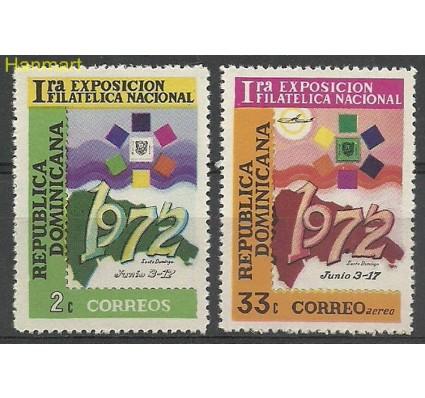 Znaczek Dominikana 1972 Mi 1002-1003 Czyste **