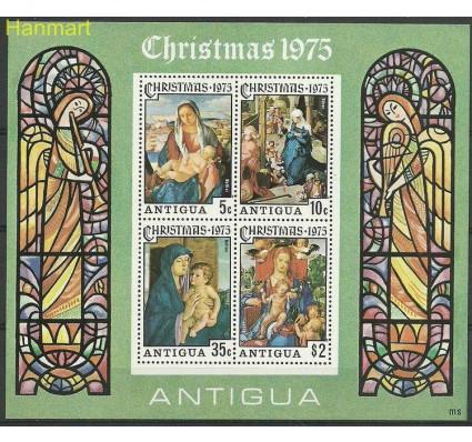 Znaczek Antigua i Barbuda 1975 Mi bl 23 Czyste **