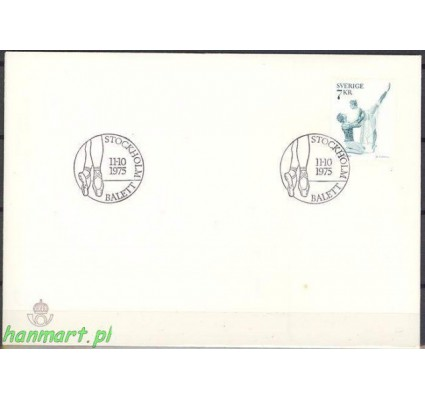 Szwecja 1975 Mi 925 FDC