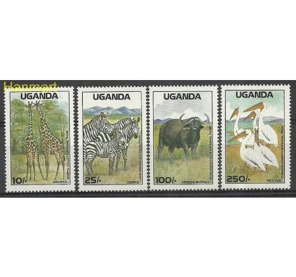 Znaczek Uganda 1988 Mi 617-620 Czyste **