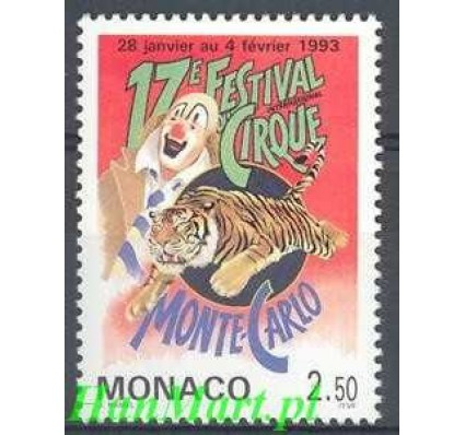 Monako 1993 Mi 2099 Czyste **