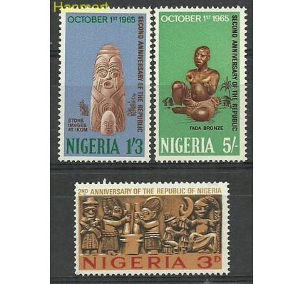 Znaczek Nigeria 1965 Mi 172-174 Czyste **