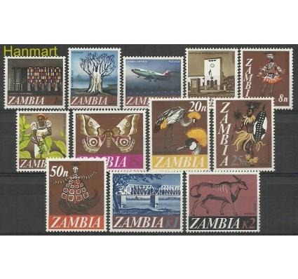 Znaczek Zambia 1968 Mi 39-50 Czyste **