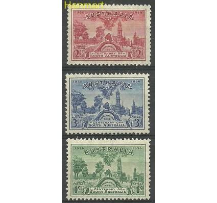 Znaczek Australia 1936 Mi 134-136 Z podlepką *