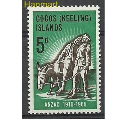 Znaczek Wyspy Kokosowe / Keelinga 1965 Mi 7 Czyste **
