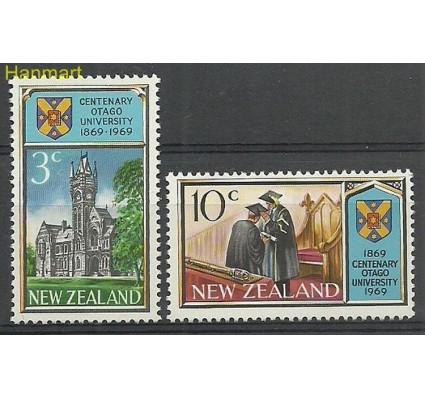 Znaczek Nowa Zelandia 1969 Mi 502-503 Czyste **