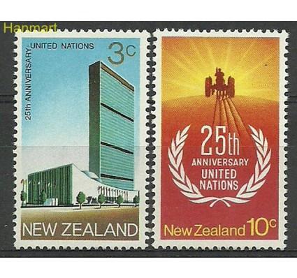 Znaczek Nowa Zelandia 1970 Mi 541-542 Czyste **