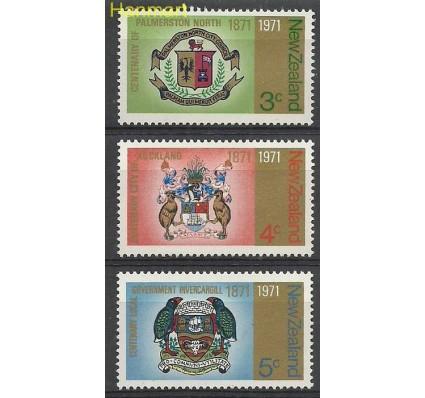 Znaczek Nowa Zelandia 1971 Mi 554-556 Czyste **