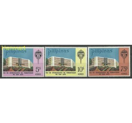 Znaczek Filipiny 1973 Mi 1059-1061 Czyste **