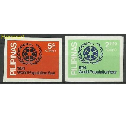 Znaczek Filipiny 1974 Mi 1107-1108xB Czyste **