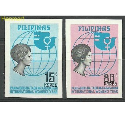 Znaczek Filipiny 1975 Mi 1135-1136B Czyste **