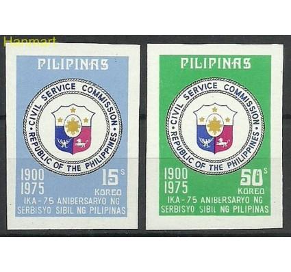 Znaczek Filipiny 1975 Mi 1137-1138B Czyste **