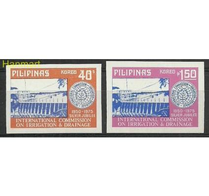 Znaczek Filipiny 1975 Mi 1139-1140B Czyste **