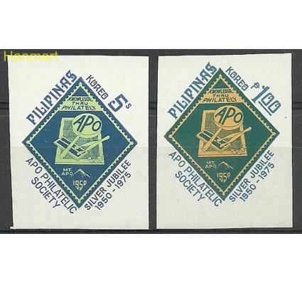 Znaczek Filipiny 1975 Mi 1148-1149xB Czyste **