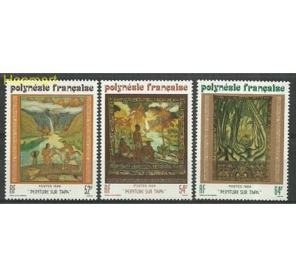 Znaczek Polinezja Francuska 1988 Mi 503-505 Czyste **