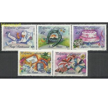 Znaczek Polinezja Francuska 1989 Mi 537-541 Czyste **