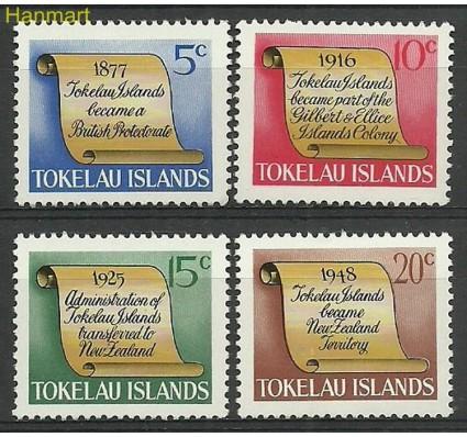 Znaczek Tokelau 1969 Mi 9-12 Czyste **