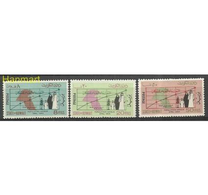 Znaczek Kuwejt 1965 Mi 272-274 Czyste **