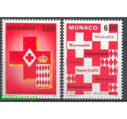 Monako 1993 Mi 2149-2150 Czyste **