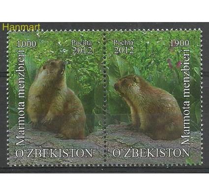 Znaczek Uzbekistan 2012 Mi 1054-1055 Czyste **