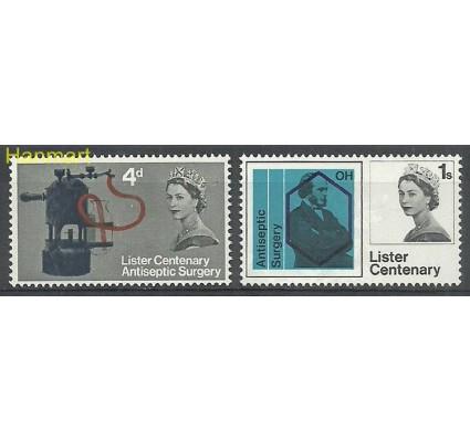 Znaczek Wielka Brytania 1965 Mi 390-391x Czyste **