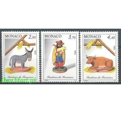 Monako 1993 Mi 2155-2157 Czyste **