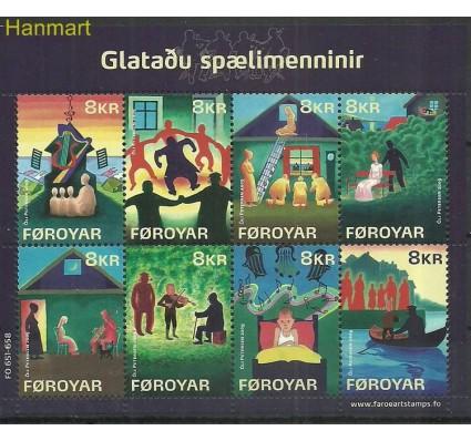 Znaczek Wyspy Owcze 2009 Mi ark 659-666 Czyste **