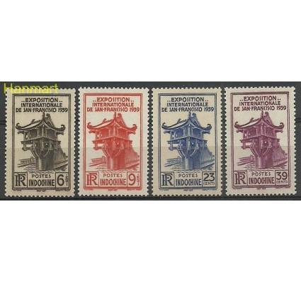 Znaczek Indochiny 1939 Mi 240-243 Czyste **