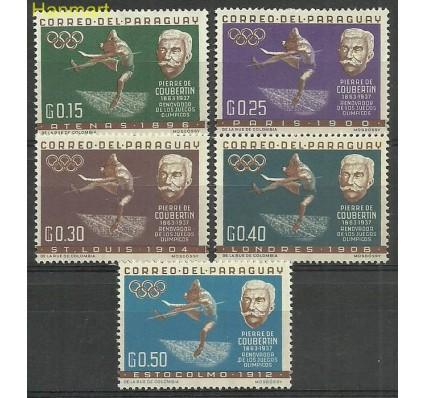 Znaczek Paragwaj 1963 Mi 1160-1164 Czyste **
