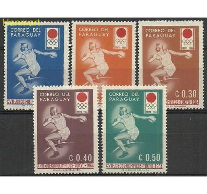 Znaczek Paragwaj 1964 Mi 1265-1269 Czyste **
