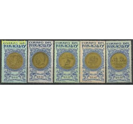 Znaczek Paragwaj 1965 Mi 1408-1412 Czyste **