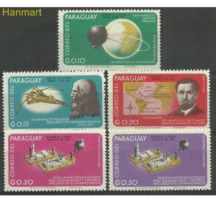 Znaczek Paragwaj 1966 Mi 1591-1595 Czyste **