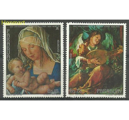 Znaczek Paragwaj 1978 Mi 3035-3036 Czyste **