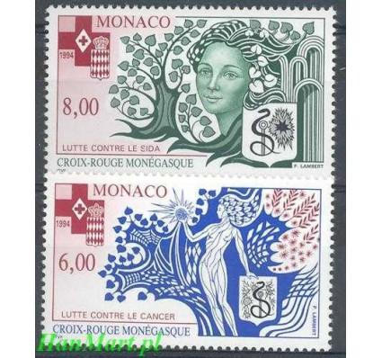 Monako 1994 Mi 2203-2204 Czyste **