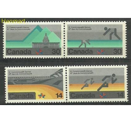 Znaczek Kanada 1978 Mi 698-701 Czyste **