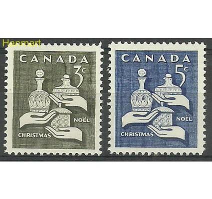 Znaczek Kanada 1965 Mi 387-388Ax Czyste **