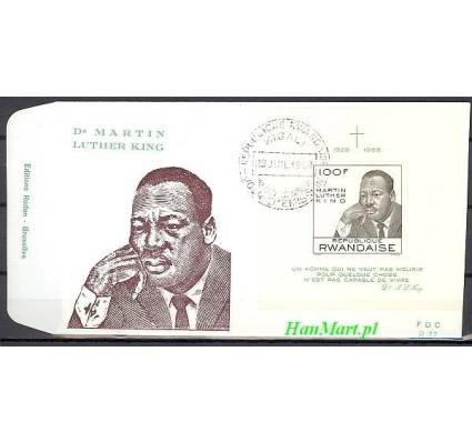 Rwanda 1968 Mi bl 14 FDC