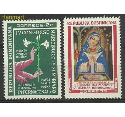 Znaczek Dominikana 1965 Mi 851-852 Czyste **