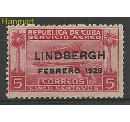 Znaczek Kuba 1928 Mi 68 Z podlepką *