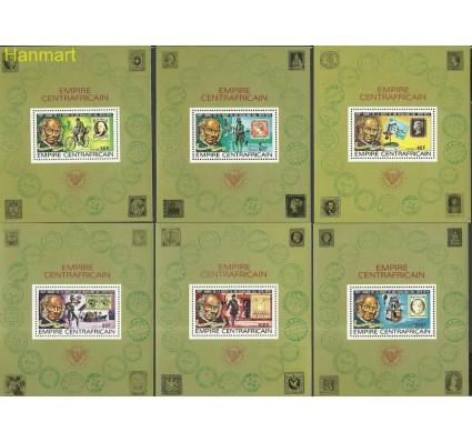 Znaczek Republika Środkowoafrykańska 1978 Mi bl 40-45 Czyste **