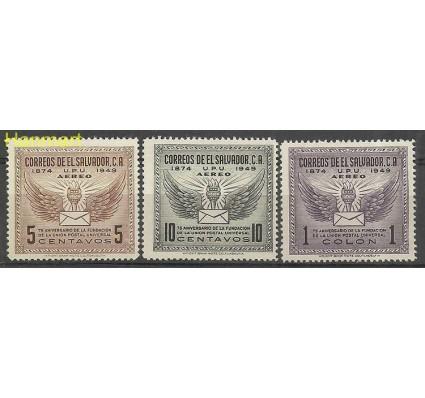 Znaczek Salwador 1949 Mi 657-659 Czyste **